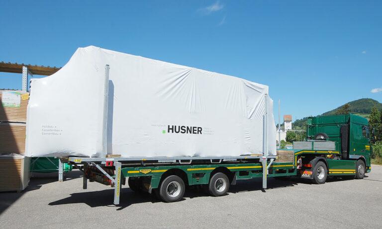 Husner Transport Lastwagen