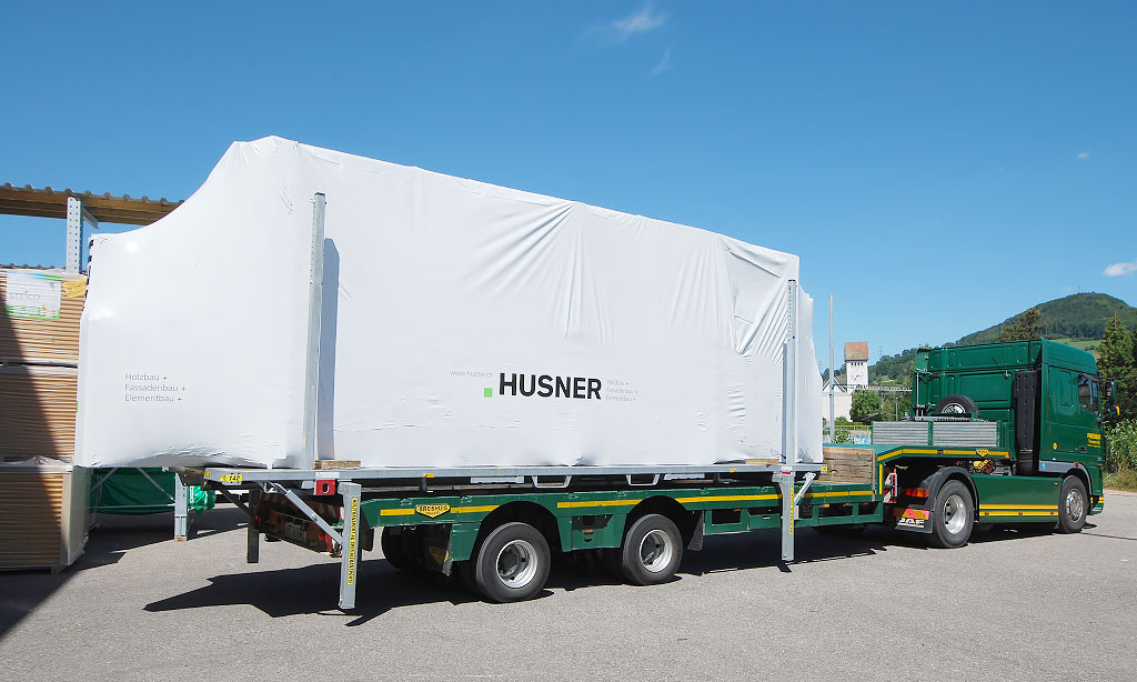 Husner Transport Lastwagen
