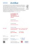 FSC-Zertifikat SQS-COC-100199 2018